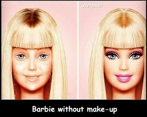 makeup,barie,dolls