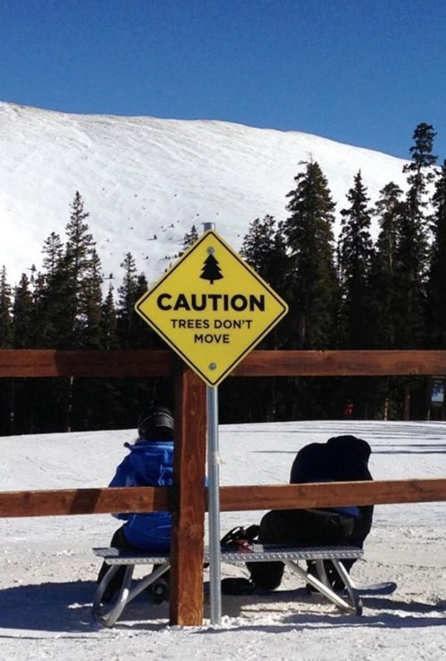 warning sign good advice wisdom skiing - 7014550528