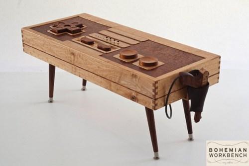 controller NES nerdgasm wood DIY - 7014563328
