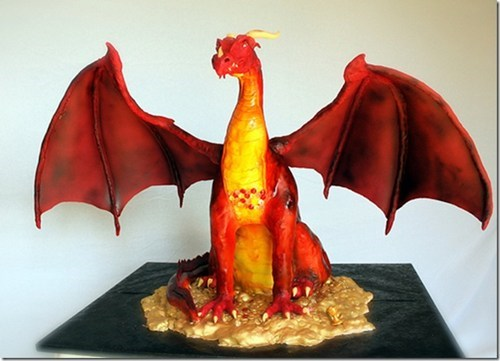 cake Lord of the Rings nerdgasm smaug - 7014752512