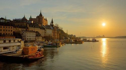 bay,cityscape,Sweden,stockholm