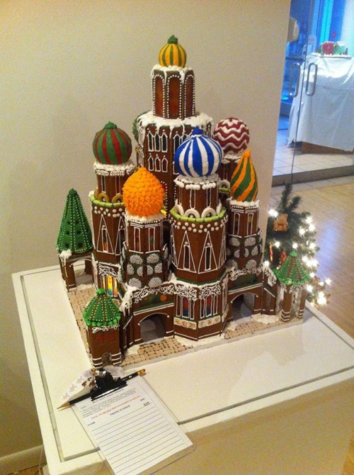 architecture gingerbread dessert food - 7014760704