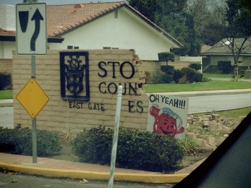 sign,repair,kool-aid man,oh yeah