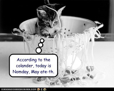According to the colander, today is Nomday, May ate-th.