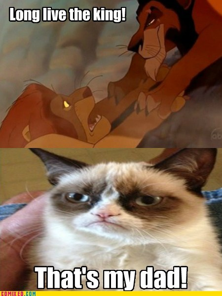 scar lion king Grumpy Cat movies