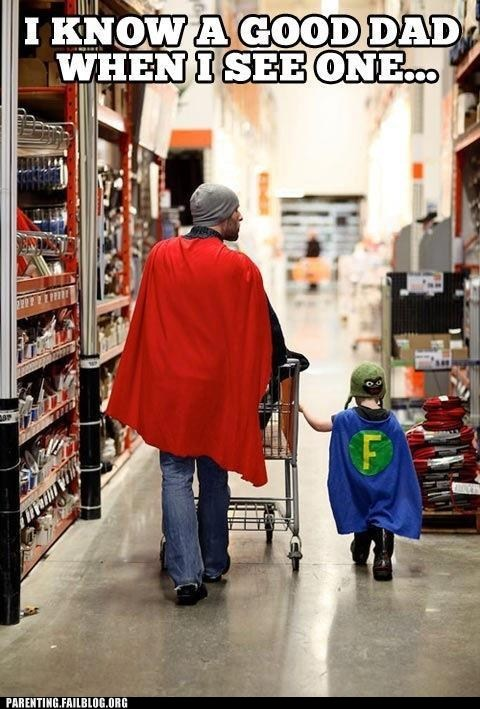 capes,dad,superheroes,parenitng fails,g rated