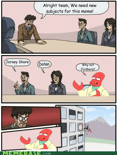 outlook oust,dolan,why not zoidberg