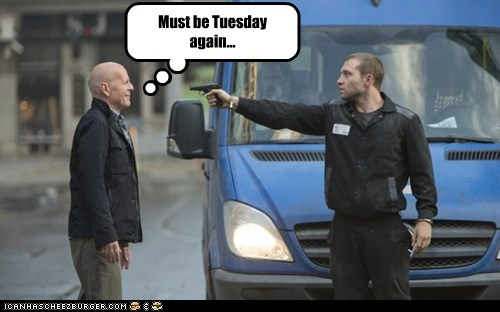 guns again bruce willis tuesday normal
