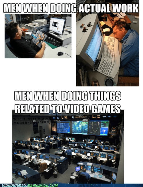 guys work girls too video games