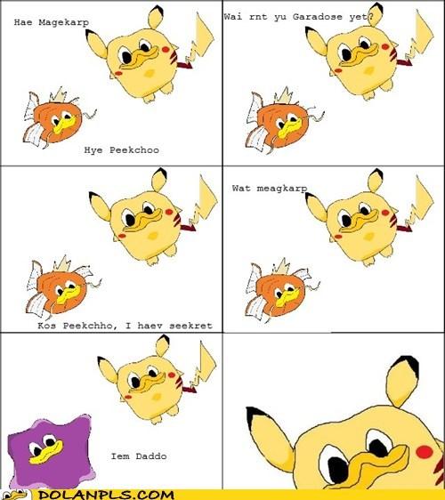 magikarp,Pokémemes,Pokémon,pikachu