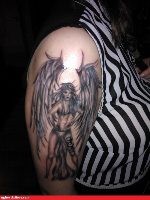 angel wings sexy tattoos demon - 7016368640