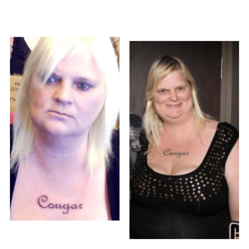 cougar,chest tattoos,Ugliest Tattoos