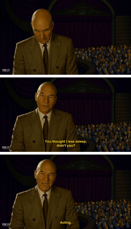 actor,comic,funny,patrick stewart