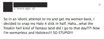 girlfriend Halo 4 dating failbook g rated - 7016621312
