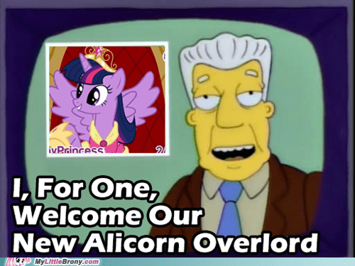 bow,princess twilight,the simpsons
