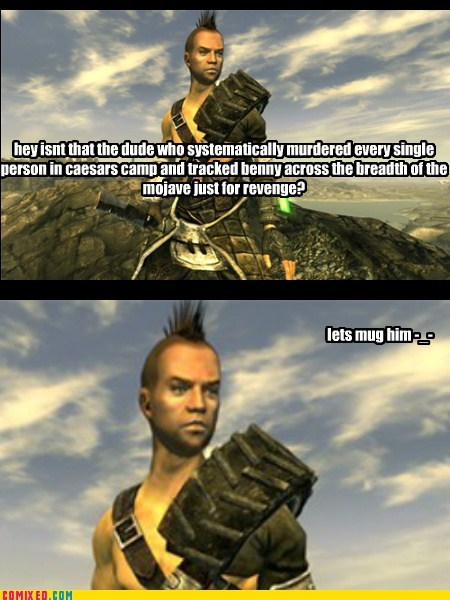 video games fallout new vegas logic - 7016705024