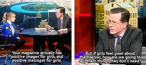 shoes,colbert,positive images,women
