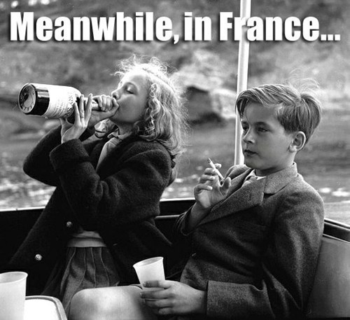 drinking smoking france underage