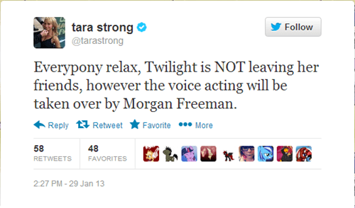 twitter coronation Morgan Freeman