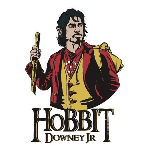 art,actor,funny,The Hobbit,robert downey jr