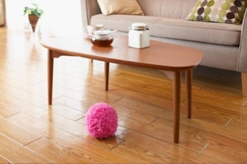 ball clean dust Fluffy robot pink - 7017262336