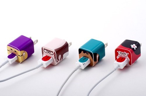 plug stickers ipod charger adapter cord identify iphone - 7017273600