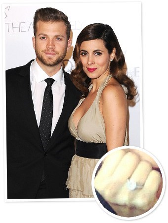 engaged ring jamie lynn sigler cutter dykstra - 7017275648