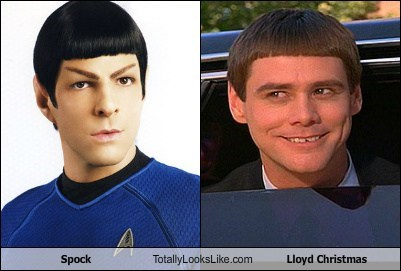 Spock Totally Looks Like Lloyd Christmas