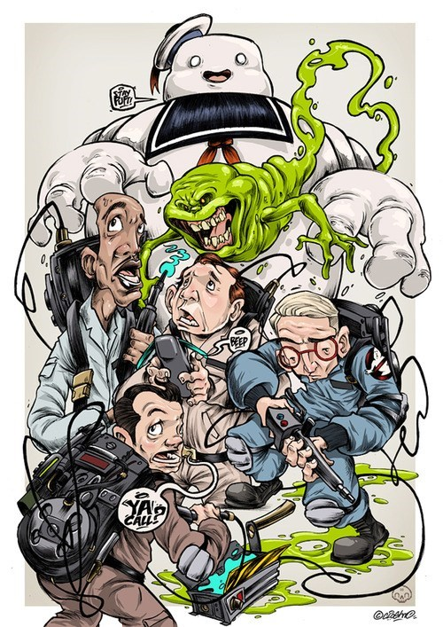 art the ghostbusters Movie funny - 7017332736