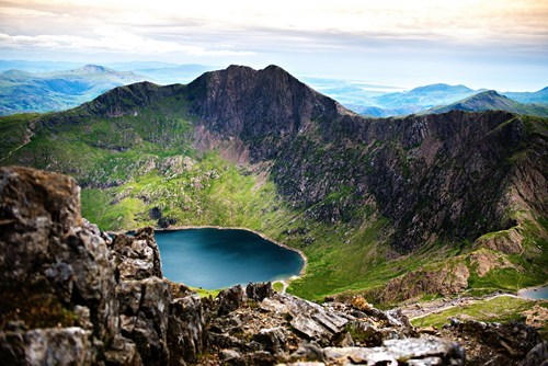 Wales england landscape mountains lake - 7017711616