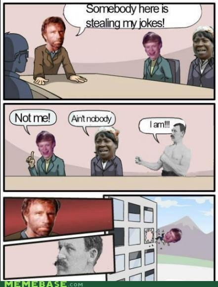 aint-nobody-got-time bad luck brian outlook oust chuck norris overly manly man - 7017998592