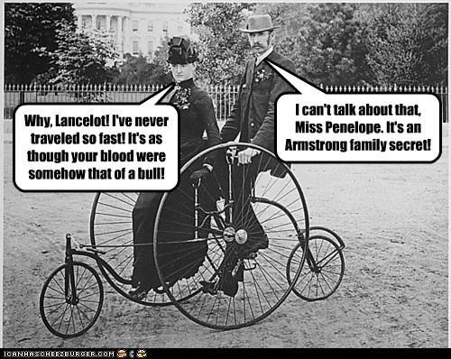 Lance Armstrong family bike legacy - 7018357248