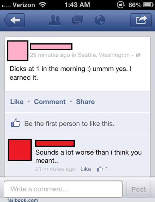 Earning Those Dicks