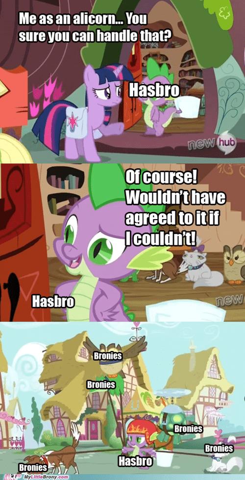 spike princess twilight Hasbro - 7018438912