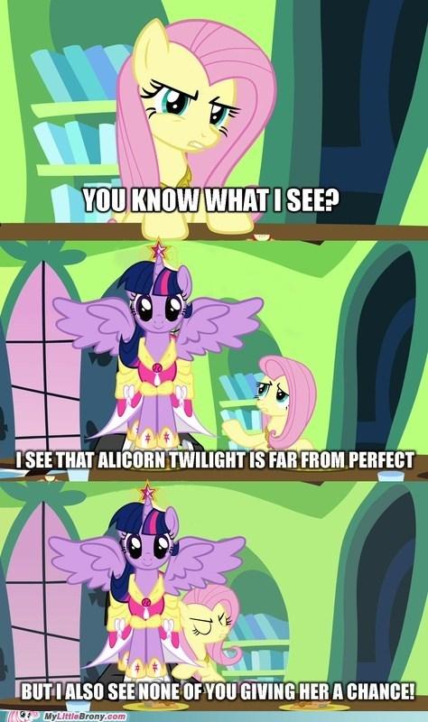 alicorn twilight twilight sparkle comics fluttershy - 7019336448