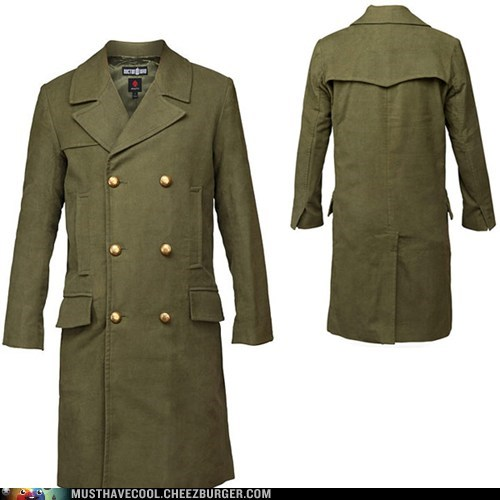 doctor who eleventh doctor coats