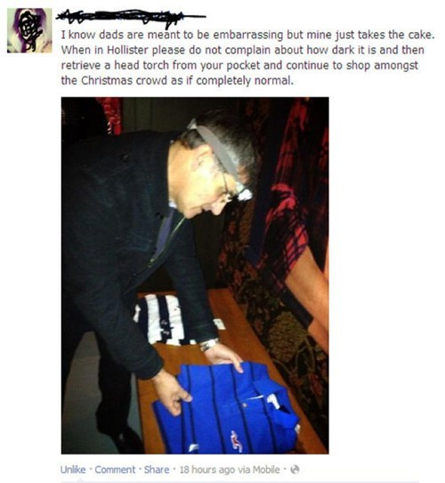 hollister facebook embarrassing parents poorly dressed - 7019513088