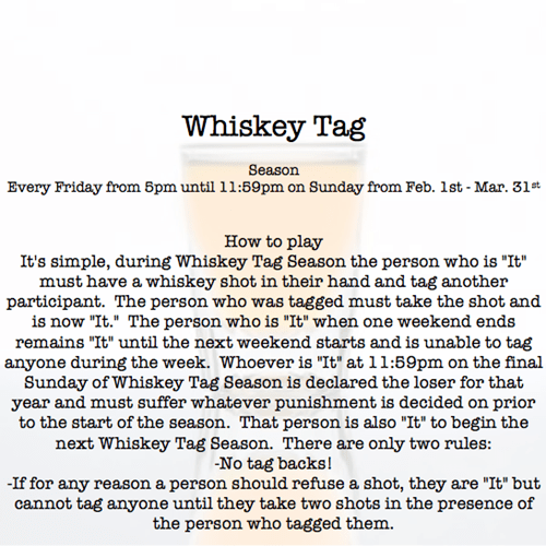 alcohol,youre-it,whiskey tag,drinking games