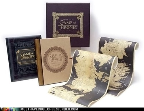 Game of Thrones box set books Maps - 7019583744