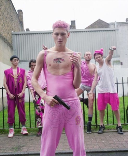 guns,gangsta,pink