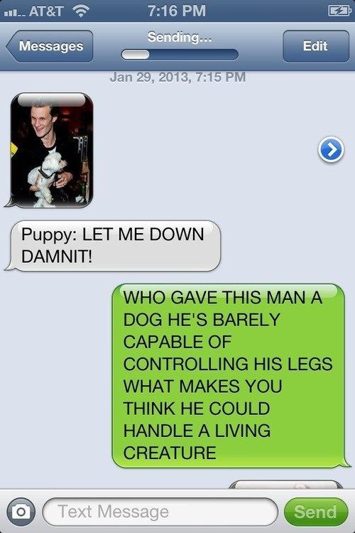iPhones doctor who dogs g rated AutocoWrecks