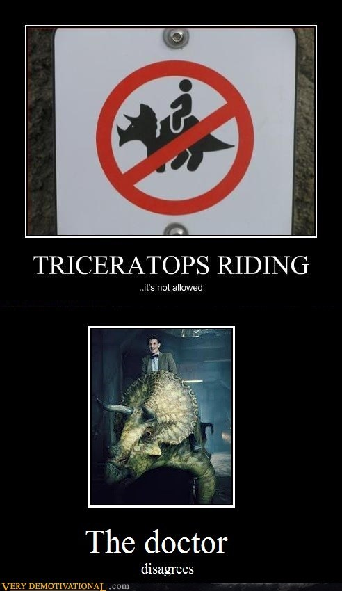 rules,doctor who,triceratops