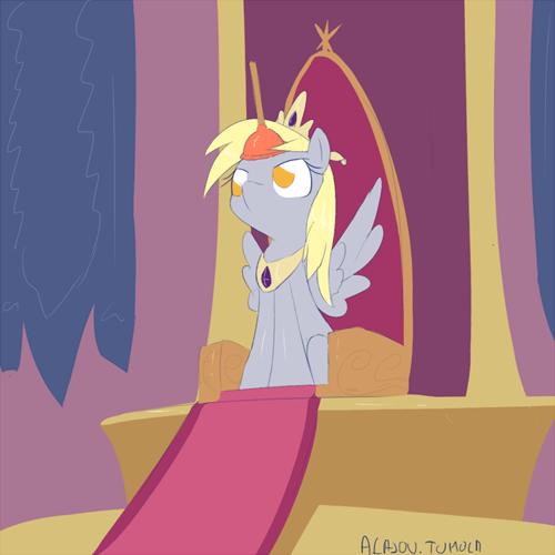 derpy art princess coronation - 7019922176