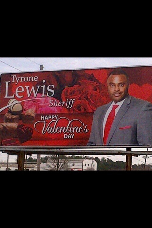 valentines billboard tyrone sheriff