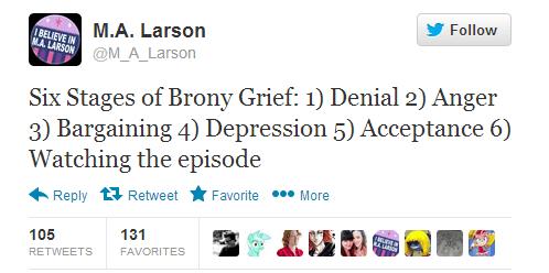 finale,twitter,Bronies,trolling?