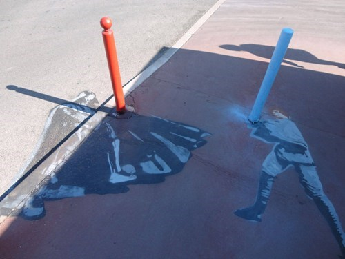 scifi,Street Art,star wars,IRL