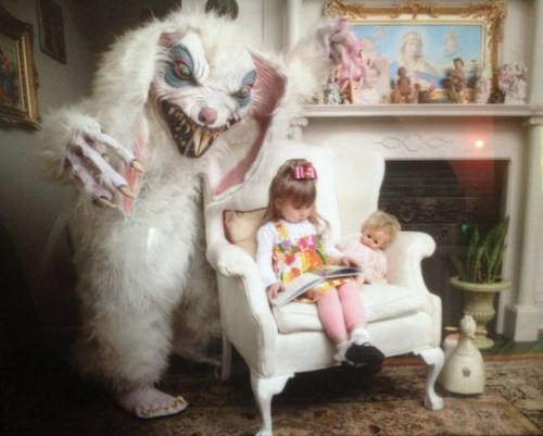scary creepy bunny Parenting FAILS - 7020087808