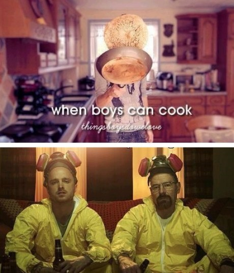 Oh, These Boys Can Cook Alright