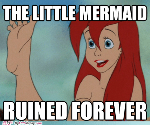 like dis if u cri evertim,feeetssss,The Little Mermaid