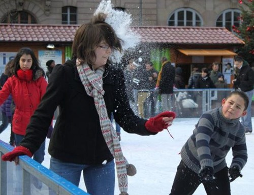 snowball,ice rink,skating